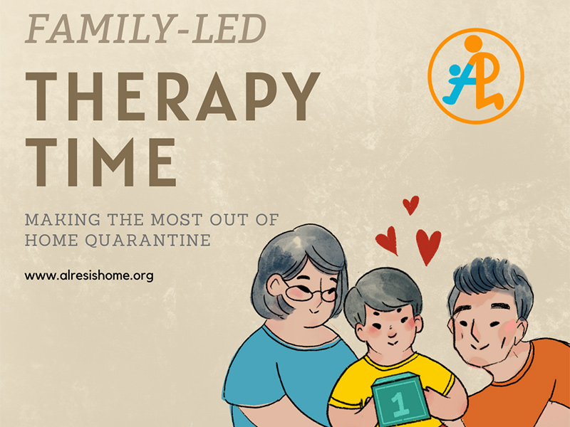 Family-Led Therapy Time – Making the Most out of Home Quarantine